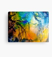 The Willow Metal Print