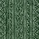 Pine Green Cable Knit by ZHField