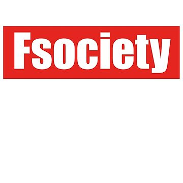 Fsociety Supreme Mr.Robot by sided