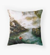 The Last Catch Throw Pillow
