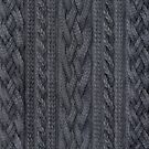 Charcoal Cable Knit by ZHField