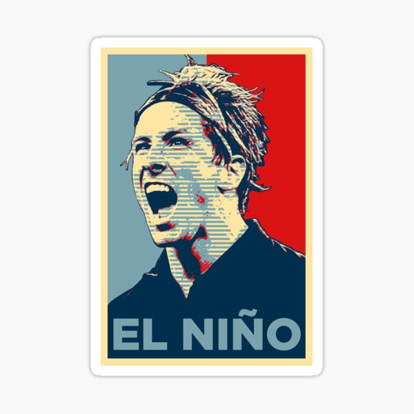 El Niño Torres (Obama Effect) Pegatina