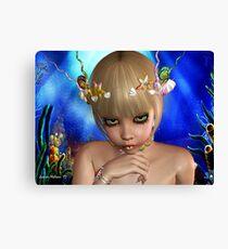 Fantasy Mermaid Canvas Print