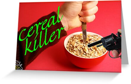 Cereal Killer at Home by MooseMan