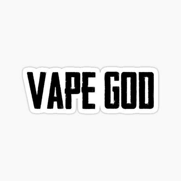 VAPE GOD Sticker