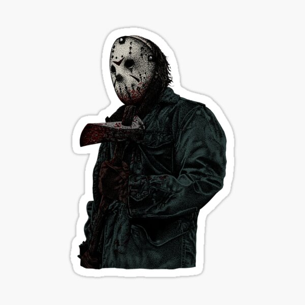 Jason Voorhees Sticker