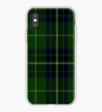00417 Cornish Brewery, Green Tartan  iPhone Case