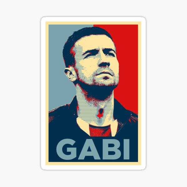 Gabi (Obama Effect) Pegatina