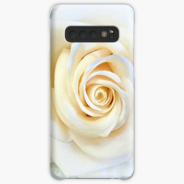 WHITE ROSE Samsung Galaxy Snap Case
