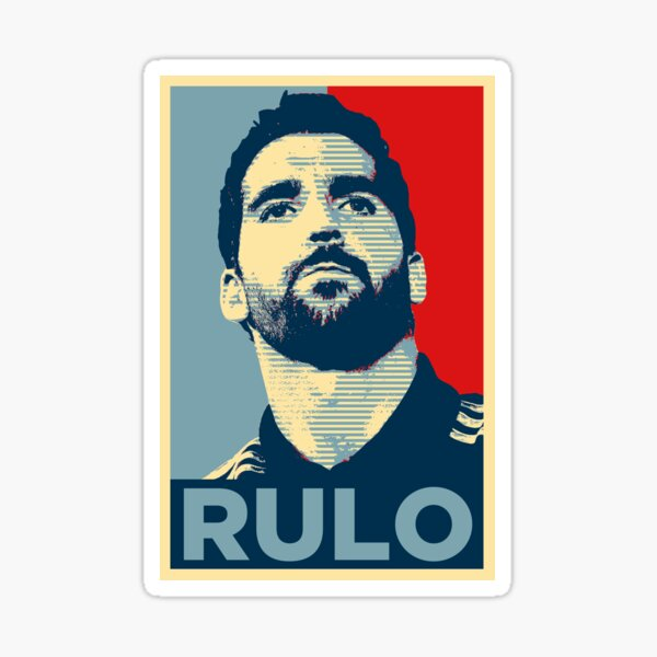 Raúl García/Rulo (Obama Effect) Pegatina