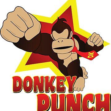 Donkey Punch - Smash Bros SSB4 by Mrmasterinferno
