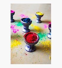 Holi Colors Photographic Print