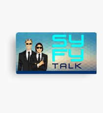 SYFY Talk hosts Canvas Print