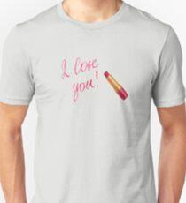 Sweet I Love You Sayings Unisex T-Shirt