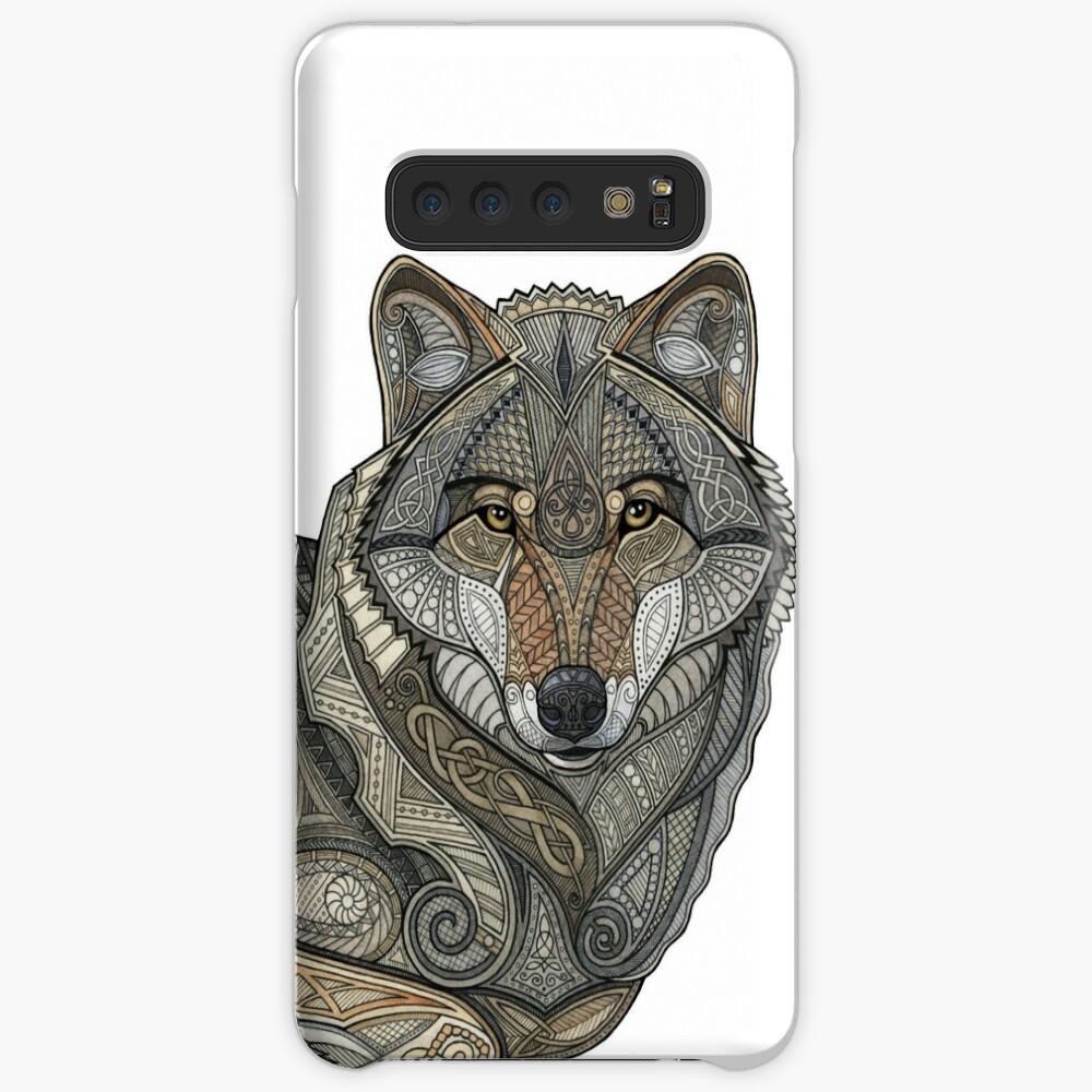 Norse Wolf Samsung Galaxy Snap Case