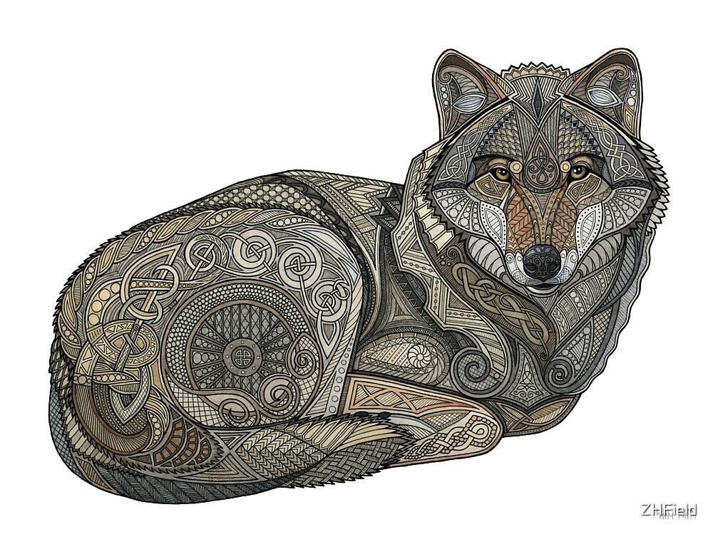 Norse Wolf by ZHField