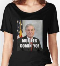 Mueller Comin' Women's Relaxed Fit T-Shirt