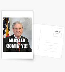 Mueller Comin' Postcards