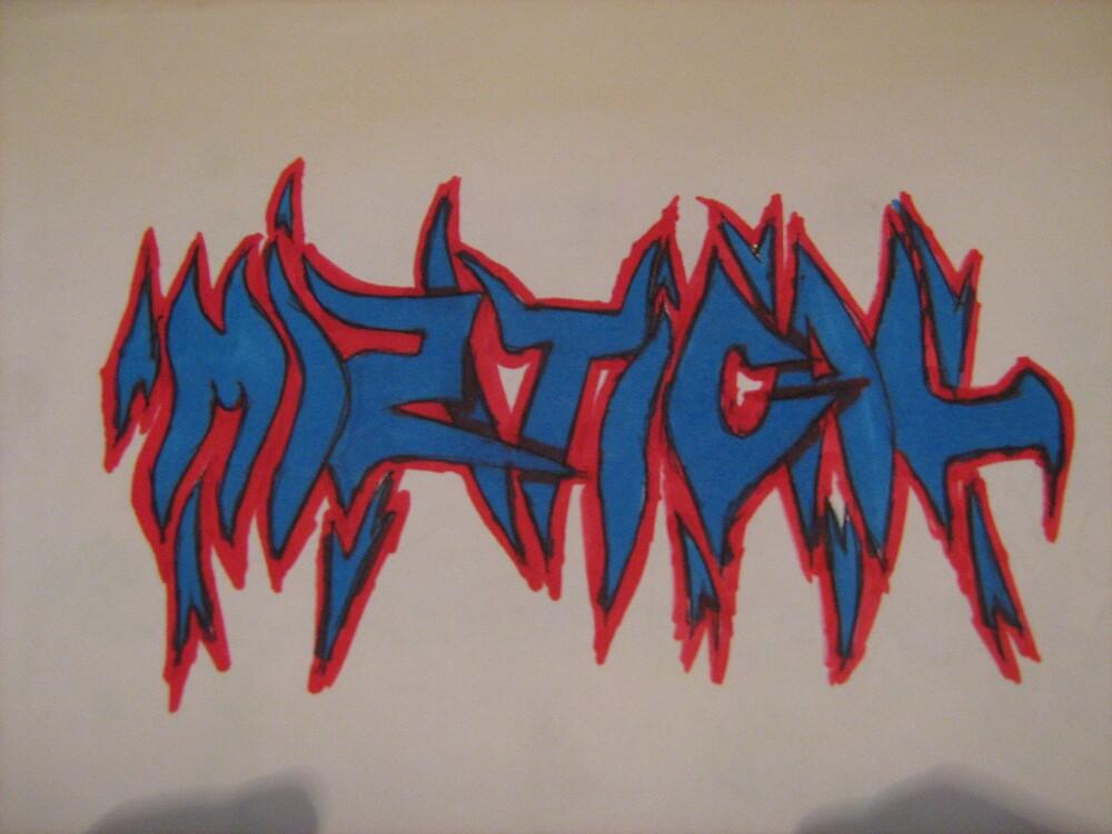 graffiti piece     (miztical) by samgraffiti