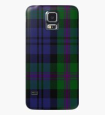 00382 Modern Baird Clan/Family Tartan  Case/Skin for Samsung Galaxy