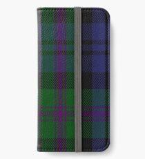 00382 Modern Baird Clan/Family Tartan  iPhone Wallet/Case/Skin