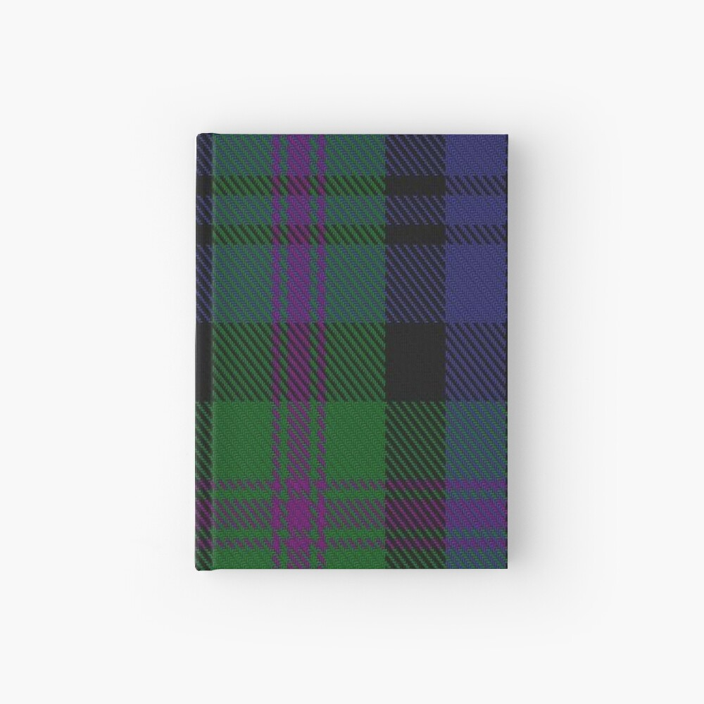 00382 Modern Baird Clan/Family Tartan  Hardcover Journal