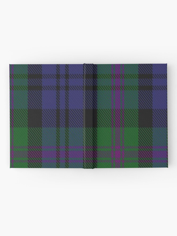 Alternate view of 00382 Modern Baird Clan/Family Tartan  Hardcover Journal