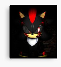 Shadow Exe Canvas Print