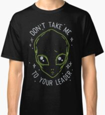 The Flash (Cisco's shirt) - Don't Take Me To Your Leader Classic T-Shirt