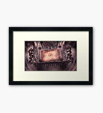 Mystic Scroll Framed Print