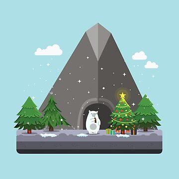 Polar Bear by NickPaull