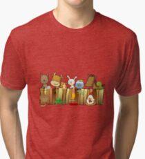 Animal Fence Tri-blend T-Shirt