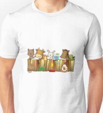 Animal Fence Unisex T-Shirt