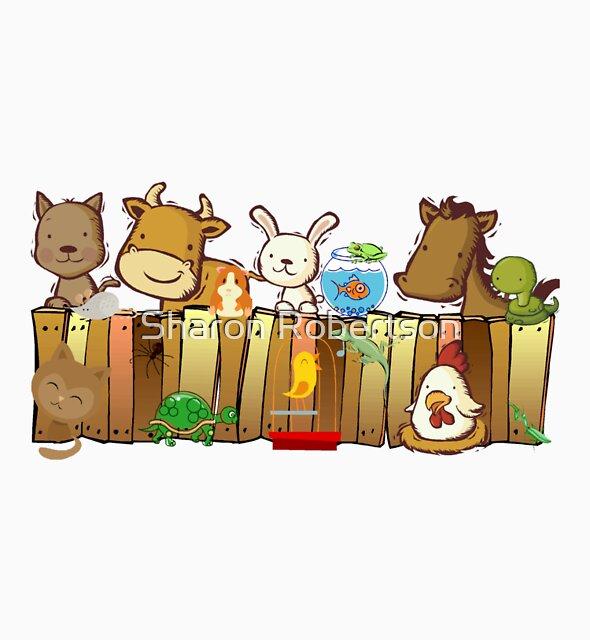 Animal Fence by Sharon Robertson