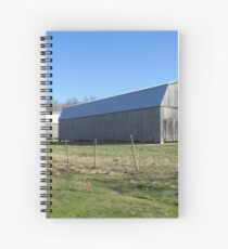 Back road barns Spiral Notebook
