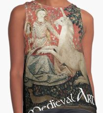 Blusa sin mangas Medieval Art - Lady and the Unicorn