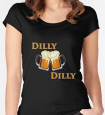 Dilly Dilly Tee for friends of the crown. Women's Fitted Scoop T-Shirt