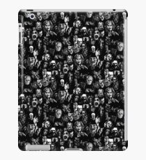 horror characters film print iPad Case/Skin