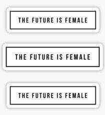 Pegatina El futuro es femenino