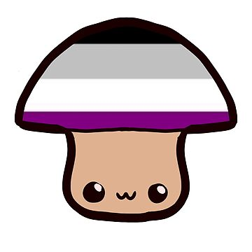 asexual pride mushroom by fruit-cooties