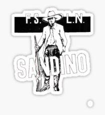 Sandino Tee Sticker