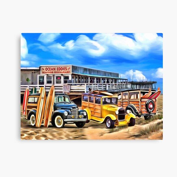 Ocean Eddies Canvas Print