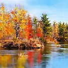 Autumn Lake by Mike Prout