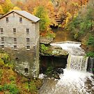 Lantermans Mill In Fall by thatstickerguy
