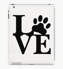 LOVE DOG PAW iPad Case/Skin