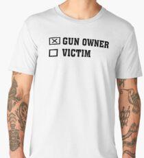 Gun Owner or Victim Men's Premium T-Shirt