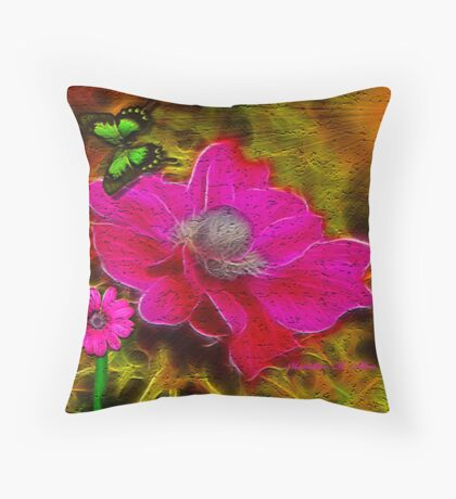 ~ PRETTY IN PINK ~ Throw Pillow
