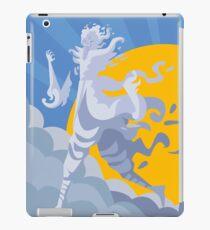 wind air elemental titan iPad Case/Skin