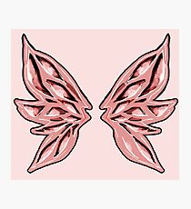 These are my Pink Fairy Wings Photographic Print