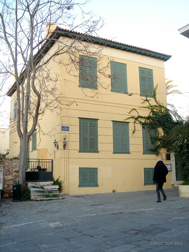 1, Diogenous str., Athens GR by Bentrouvakis